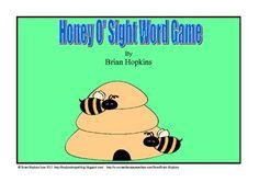 $ Honey O' Sight Word Game