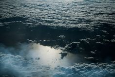 Sea of Clouds by German photographer Jakob Wagner presents a beautiful view of the Mediterranean Sea from above