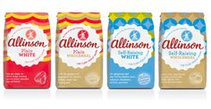 patterns  Packaging of the World: Creative Package Design Archive and Gallery: Allinson Flour Redesign