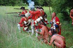 Reenactment French and Indian Fort | Facebook page . A great source for some really picturesque images like ...