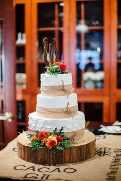 Fall Country Barn Wedding - Rustic Wedding Chic
