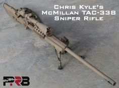Chris Kyle's TAC 338 Sniper Rifle
