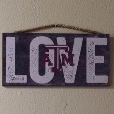 $14.99 Texas A&M Wood Sign.  Item can be purchased directly from me and shipped.  Available for purchase at the Frisco Mercantile in Suite #805 located at 8980 Preston Road, Frisco, TX 75034.  Also available for purchase at the Richardson Mercantile in Suite #3000 located at 101 S. Coit Road, Richardson, TX 75080.  If you have any questions please email/call/text 806-576-6393 texasfirepony@gmail.com. #texasfirepony #friscomercantile #friscomerc #friscomercentile #friscomercantilefriscotexas…
