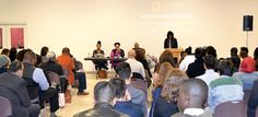 Photo by James Farrell Panelists discussed the Black Lives Matter movement at Queens College.