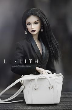 "L I ● L I T H | Model : Fashion Royalty NuFace Lilith ""Eleme… 