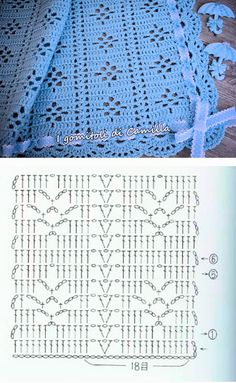 45 Ideas For Crochet Patrones Ganchillo - Diy Crafts - DIY & Crafts Hexagon Crochet Pattern, Crochet Bedspread Pattern, Crochet Diagram, Crochet Stitches Patterns, Crochet Chart, Crochet Motif, Crochet Designs, Filet Crochet, Stitch Patterns