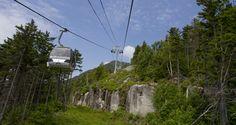 Summer Gondola Ride, Lake Placid.