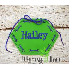 6 Sided Lacing Card