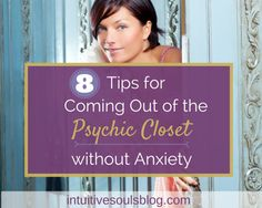 Ready to come out of the psychic closet but scared what people will say or think? Here are eight tips that will help make things easier for you! Spiritual Medium, Spiritual Path, Spiritual Awakening, Spiritual Quotes, Out Of Body, Psychic Development, Thing 1, Psychic Mediums, New Thought