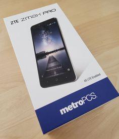 Used 10/10 A Grade Unlocked ZTE ZMAX Pro Z981 32GB Black MetroPCS Smartphone  #ZTE #Smartphone