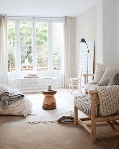 Irene Mertens's relaxing home in Amsterdam