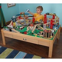 KIDKRAFT Airport Express Train Set And Table By KidKraft, Http://www.
