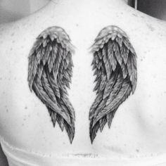 My angel wings tattoo. Absolutely in love with them.