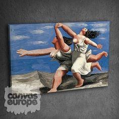 1732-1-1-499-3-two-women-running-on-the-beach-canvas-print.jpg (499×499)