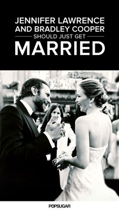 Jennifer Lawrence and Bradley Cooper were meant to be together. Check out all the adorable reasons why on POPSUGAR.com!