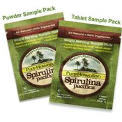 Free Sample of Spirulina Pacifica Superfoods
