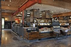 Inside The Global Design World Of Starbucks Local Commercial, Commercial Design, Industrial Coffee Shop, How To Store Bread, Medical Office Design, Global Design, Store Design, Cafe Design, Interior Design