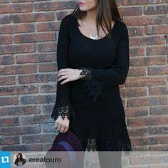 Divina!! #Repost @erealouro  Si tenéis ganas de un look boho y no aguantáis hasta primavera, echad un ojo a este look , el collar lo ponemos nosotros , hasta mañana amores!! www.byneskapolita.com