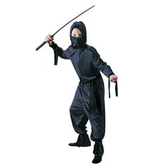 Black Ninja Boys Halloween Costume