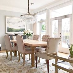 This Space From Just Gives Us Dining Room Envy. We Love That Our Clarissa Crystal  Chandelier Melds So Effortlessly Into The Space!