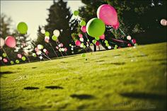 The Tres Chic Bride: Wedding Trend: Balloons!