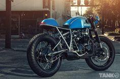 Sofi's Honda CB550 Cafe Racer ~ Return of the Cafe Racers