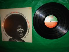 Roberta Flack Quiet Fire 1971 Vintage Music Record find me at www.dandeepop.com