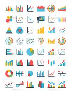 Graph Icons Set Graphics Graph pixel perfect vector icons collection based on grid of ready to use thin line icons. The by Oleksii Graph Design, Web Design, Chart Design, Icon Design, Vector Design, Bar Graphs, Charts And Graphs, Business Icon, Business Card Logo