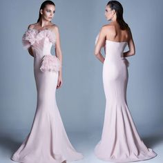 You are more than gorgeous when you wear this unbeatable MNM Couture shop this look ➡ MNM COUTURE - Ruffled Sweetheart Mermaid Dress  Floral Evening Dresses, Evening Gowns, Pink Dresses, Trendy Plus Size Dresses, Silver Outfits, Formal Cocktail Dress, Silver Dress, Pageant Dresses, Designer Wedding Dresses