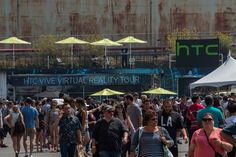 While in San Francisco for the Street Food Festival, virtual reality fans and developers were given the opportunity to demo the HTC Vive and gave their feedback on virtual reality and its potential applications for the future.