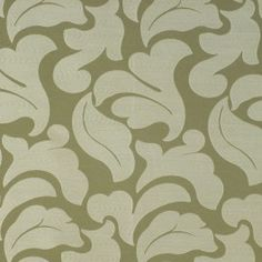 Green drapery / curtain fabric - Concetta Sage by Charles Parsons Interiors