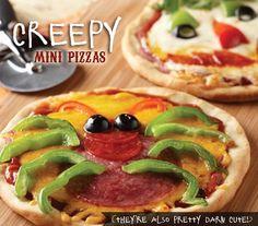 recetas infantiles pizza mini