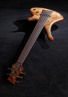 a Diva 5 fretless by Marleaux Bass Guitars