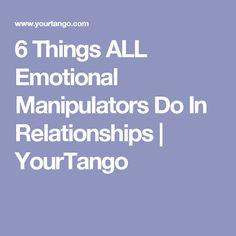 Am i an emotional manipulator quiz
