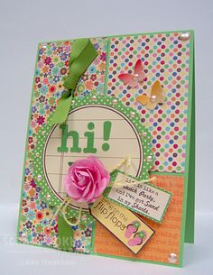 ScrapNextras Card - love that Jillibean Soup!