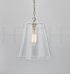 Glass Bell Shade Large
