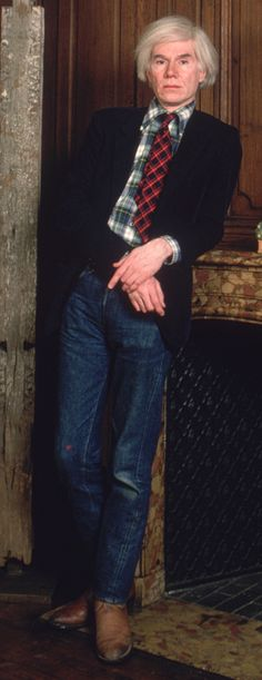 The Best Dressed Artists of All Time - Best Dressed Men 2014 - Esquire Andy Warhol