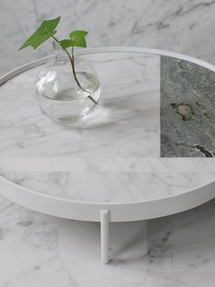 No-No Table by Note Design Studio & Norm Architects for Menu Note Design Studio, Notes Design, Marble Interior, Interior Design, Table Furniture, Furniture Design, Furniture Stores, Coffee Table Design, Coffee Tables