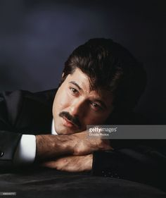 1990, Portrait of Anil Kapoor.