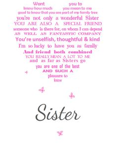 Sisters are your soulmate best friends from God from easrly days to your whole l. Sisters are your soulmate best friends from God from easrly days to your whole life it is sister that sticks always arou. Birthday Wishes For Sister, Happy Birthday Funny, Funny Happy, Birthday Humorous, Birthday Sayings, Husband Birthday, Birthday Messages, Friend Birthday, Birthday Presents