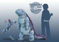 Quagsire evolves