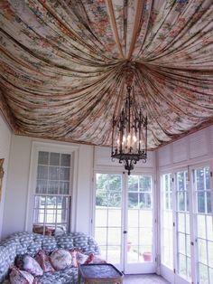 tented sunroom