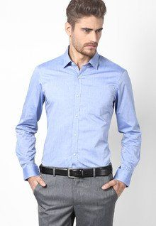 c5911d491661 Arrow Blue Formal Shirt for men price - Best buy price in India May 2019  detail & trends | PriceHunt