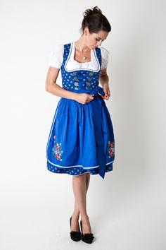 Dirndl Fiona, blue