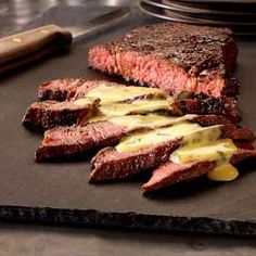 Try this Southwest twist on the classic steak with a cilantro lime flavored hollandaise sauce.