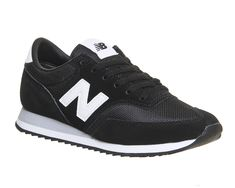 Buy Cw Black White Grey Exclusive New Balance 620 Trainers from OFFICE.co.uk.