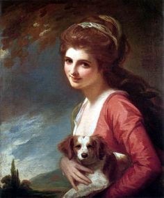 Lady Hamilton, wife of Sir William, British envoy to the court at Naples and hostess to many Grand Tourists. She was considered a great beauty.
