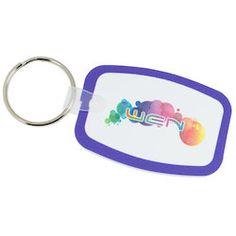 This 4imprint Exclusive shaped tag is the key to customized advertising!
