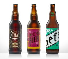 30 Beers for 30 Years : Weizenbier 1985 by tim weakland, via Behance