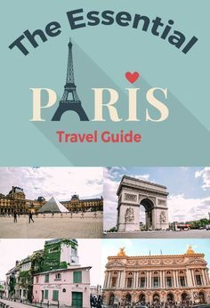 The essential Paris Travel Guide. How to spend 5 days in Paris. I'll never forget my first time in Paris. It was mid-July and I was 25. I wasn't as worried about skin cancer but I was concerned about lightening my hair and darkening my skin in the sun. What to do in Paris #paris #parisguide #europe #travelguide